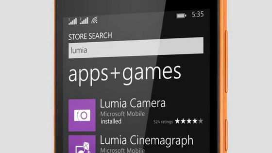 Microsoft Store в Windows Phone