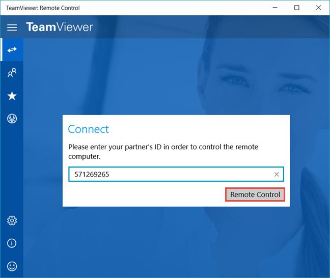Teamviewer на Windows10