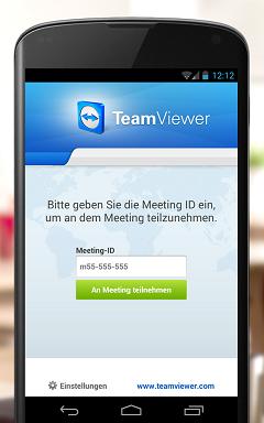 TeamViewer7 для телефона