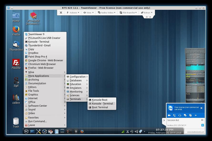 TeamViver11 на линукс