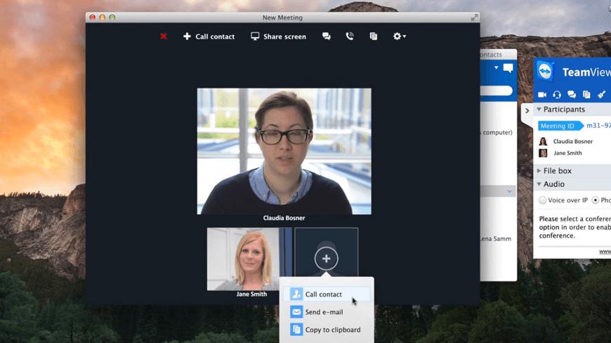 Видео в TeamViewer10