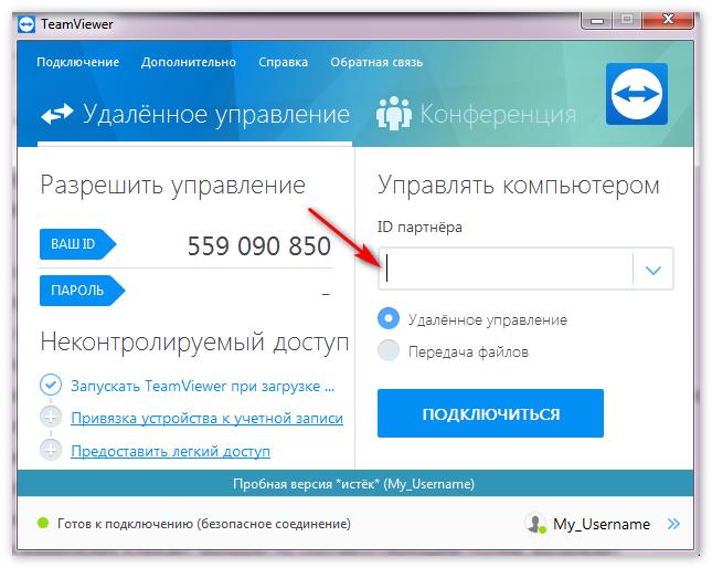 Partner ID TeamViewer
