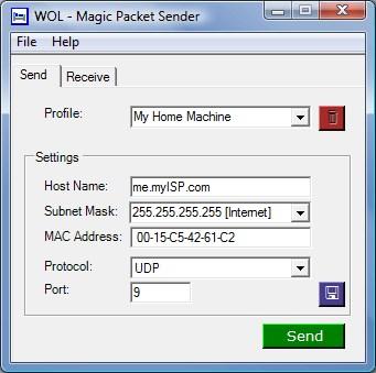 Программа Magic Packet